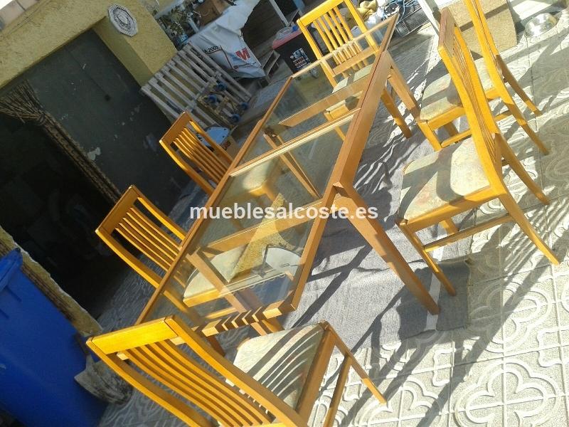 mesa comedor extensible de madera sillas with mesas y sillas comedor segunda mano
